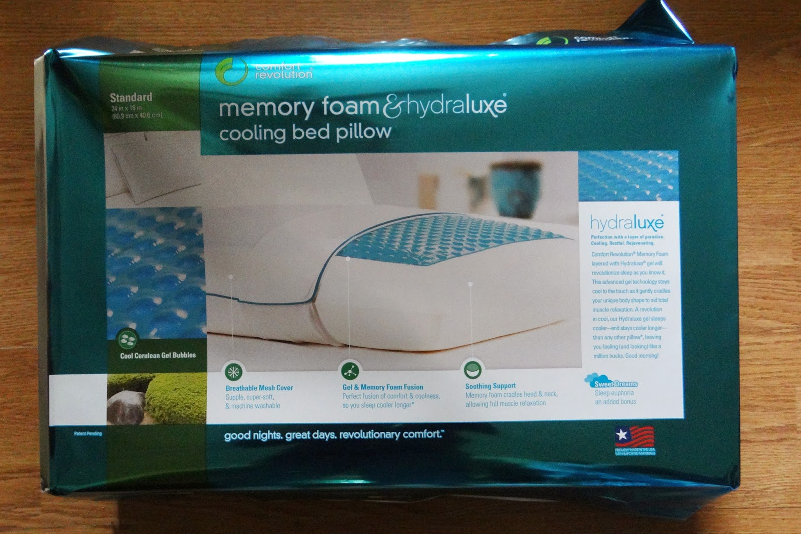 this new memory foam pillow has changed my life | strictly